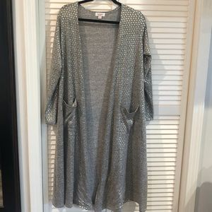 Lularoe Sarah Cardigan Elegant collection Medium